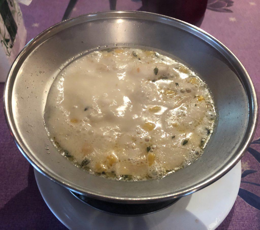 亞廬意大利窯烤 前湯