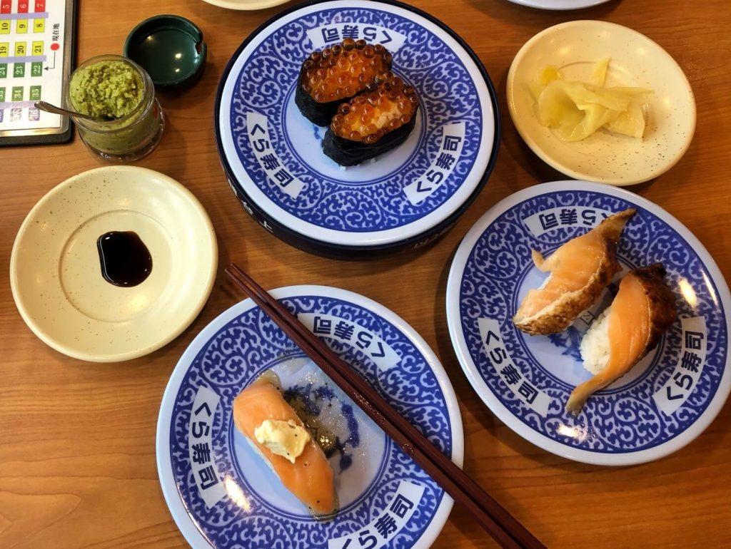 藏壽司 鮭魚系列