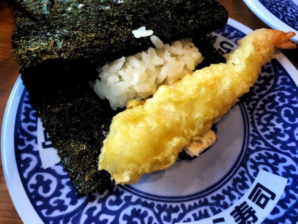 藏壽司 炸蝦天婦羅手卷