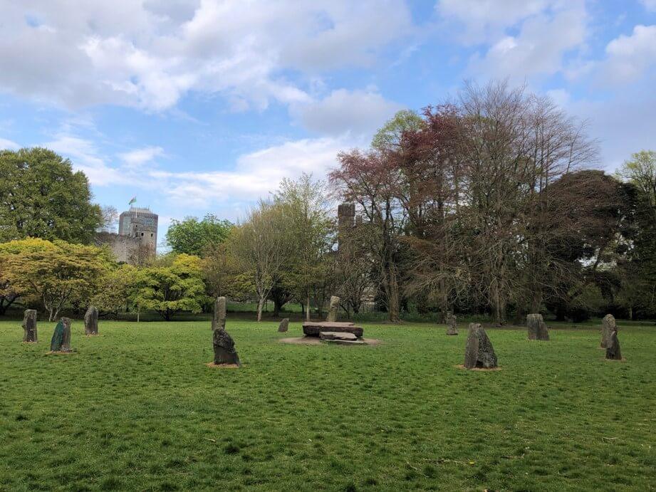 Cardiff_Bute Park _Gorsedd Stone Circle