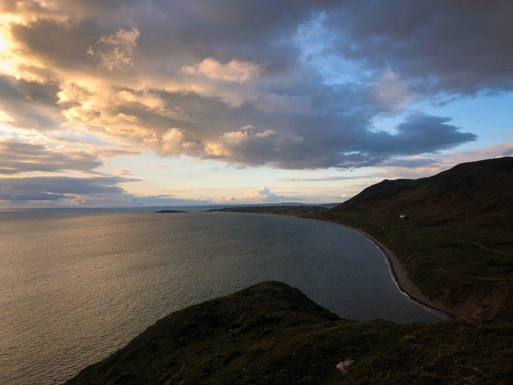 Rhossili Bay 羅西里海灣 高爾半島獲獎最美海灣  威爾斯旅遊 Wales - Isla Vida 島語生活