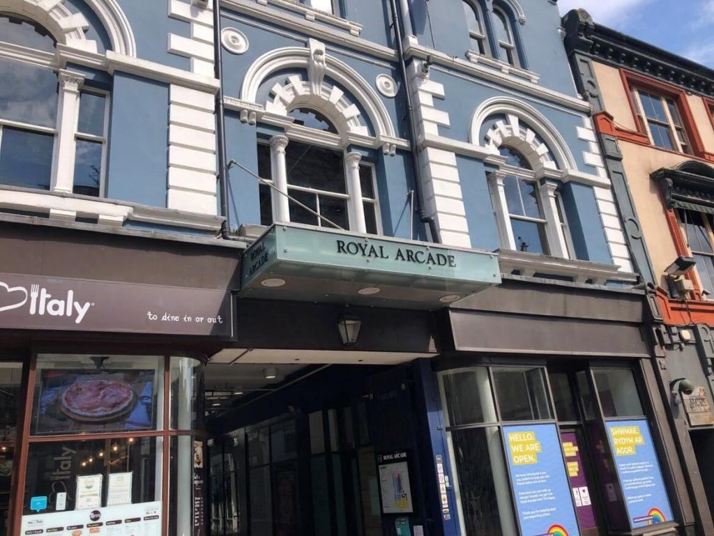 Cardiff拱廊商店街_Wales旅遊